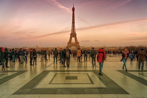Paris, Eiffel Tower, Landmark, France, Architecture