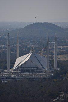 Mosque, Islamabad, Pakistan, Faisal, Religious, Masjid