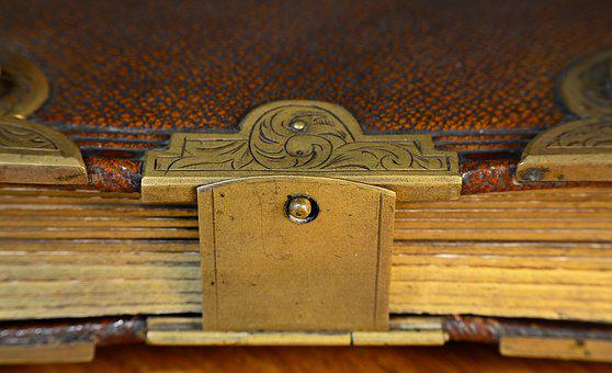 Paper, Book, Album, The Closure Of, Old, Bible, Read