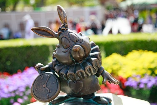 Disney, Disneyland, Rabbit, Madhatter, Snowwhite