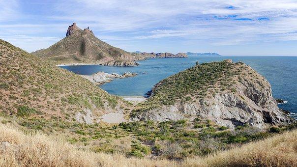 San Carlos, Sonora, Mexico, Tetakawi, Nature, Landscape