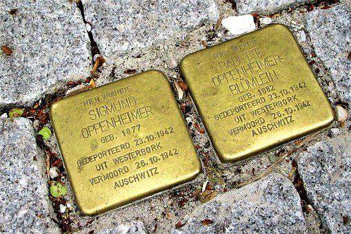 Monument, Europe, Shoah, Memorial, Sights, Historical