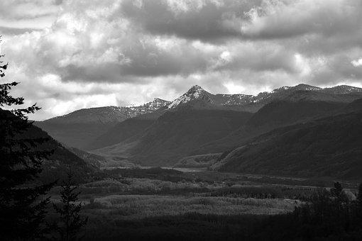Mountains, Peaks, Landscape, Peak, Sky, Summit, Snow
