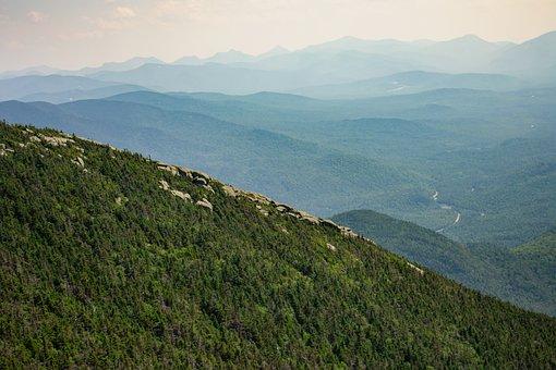 Adirondacks, Mountains, New York, State Park, Hills