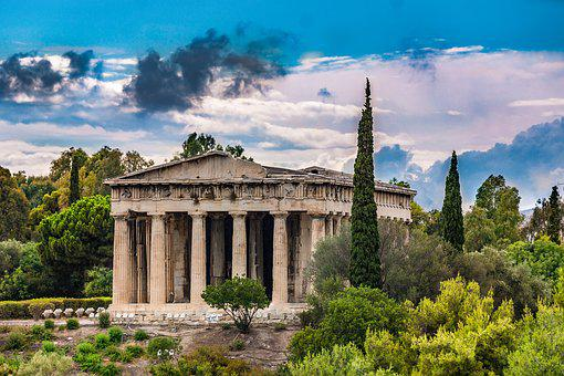 Athens, Temple, City, Temple Of Hephaestus