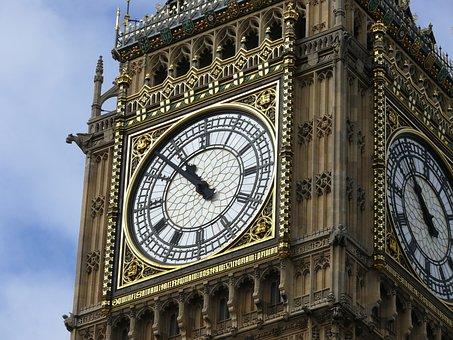 Big Ben, Clocktower, Parliament, Building, Tower