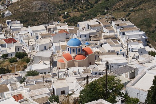 Greece, Cyclades, Island, Sea