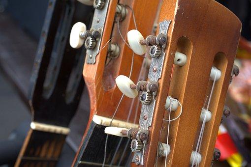 Guitar, Guitar Neck, Instrument, Music