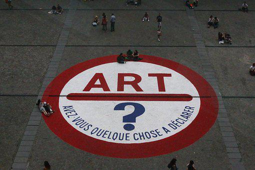 Art, Question, London, Tate Modern, United Kingdom