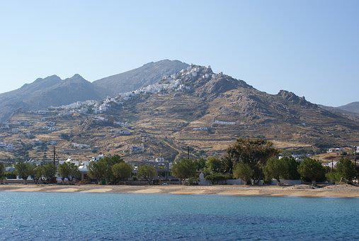 Greece, Island, Bay, Sea, Cyclades