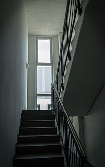 Staircase, Railing, Architecture, Stairs, Gradually