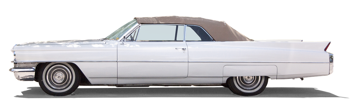 Cadillac, Coupe De Ville, Old, Classic, United States