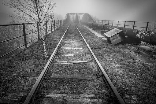 Abandoned, Railway, Castleford, Yorkshire