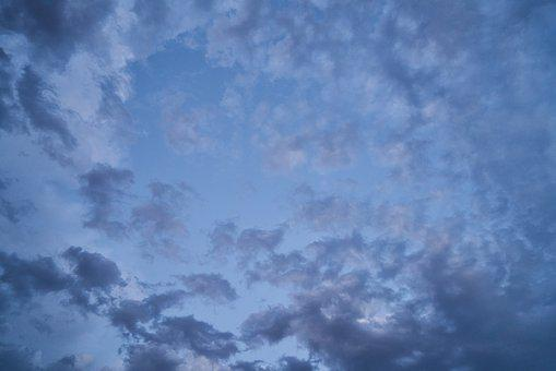 Cloud, Blue, Sky, Clouds, Air, Atmosphere, Color