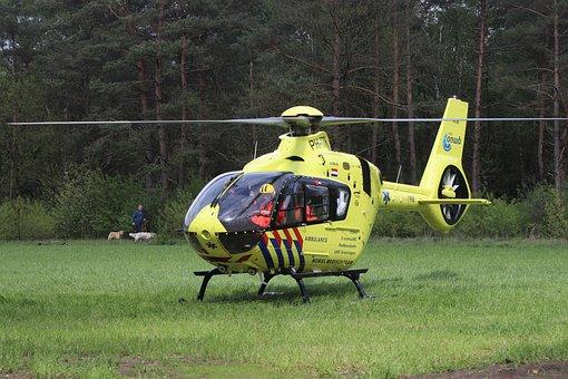 Trauma Helicopter, Ambulancehelikopter, 112, Art