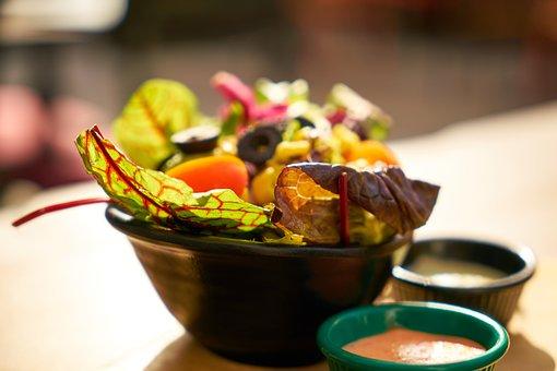 Salad, Kap, Food, Breakfast, Vitamin, Vegan, Kitchen