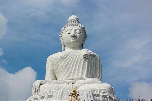 Thailand, Big Buddha, Buddha, Buddhism, Statue, Phuket
