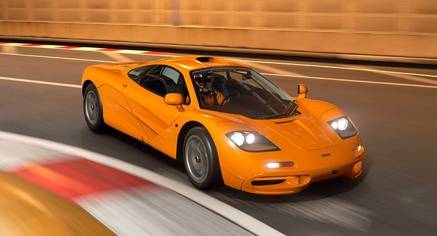 Mclaren, P1, Mclarenp1, Supercar, Hypercar, Orange, Car