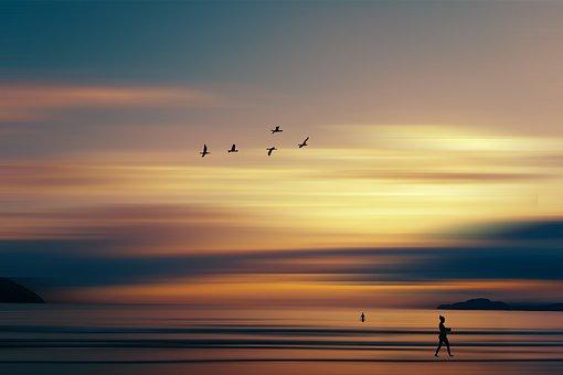 Nature, Landscape, Clouds, Fantasy, Sky, Sunset