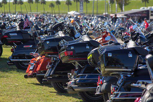 Bike, Daytona Beach, Motorcycle, Florida, Biketober