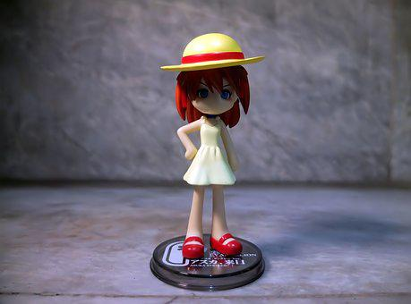 Young, Girl, Female, School, Summer, Dress, Outfit, Hat