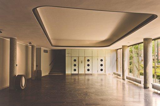 Architecture, Building, Foyer, Input Range, Elevator