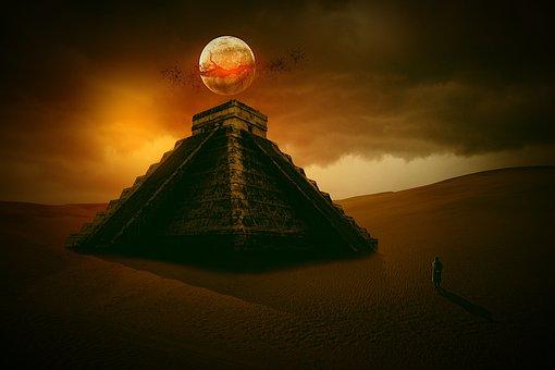 Pyramid, Secret, Maya, Mexico, Place, Marvel, Tourism