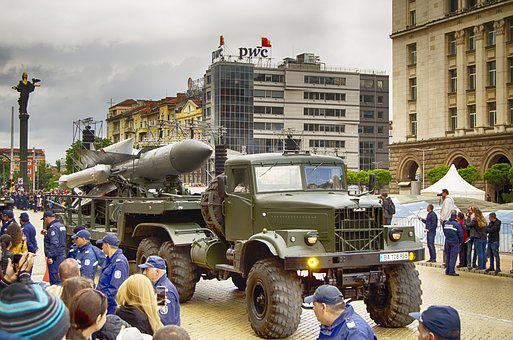 Military Parade, Rocket, Military Hardware