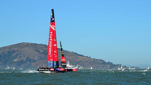 Sailing, America's Cup, New Zealand