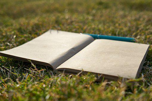 Notebook, Is Empty, Pen, To Write, Work, Romantic