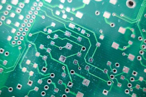 Printed Circuit Board, Ki, Robot, Microprocessor