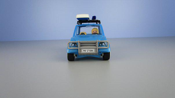 Auto, Roof Box, Miniature, Playmobil, Youtube
