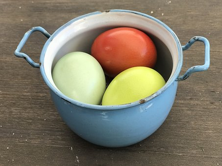 Easter, Colorful, Egg, Easter Eggs, Colored, Spring