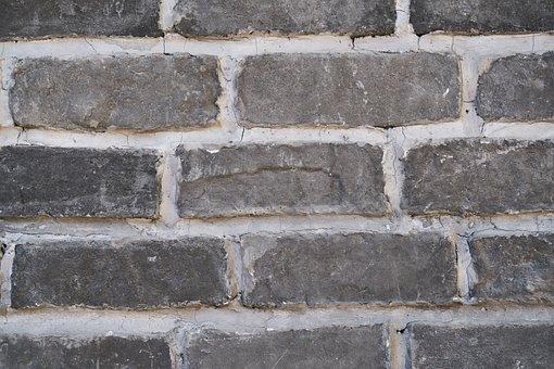 Wall, Surface, Ground, Brick, Black, Construction