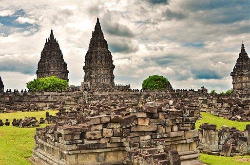 Indonesia, Java, Prambanam, Trip, Temple, Asia
