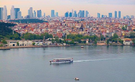 Balat, Estuary, Istanbul, Turkey, Buildings, City