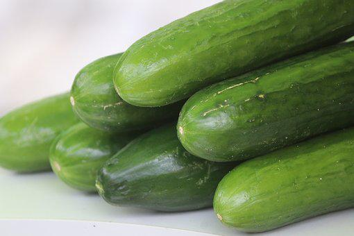 Green, Cucumber, Food, Healthy, Vegetables, Nutrition