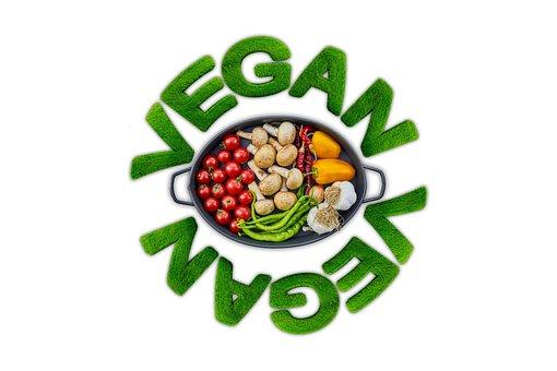 Vegan, Vegetables, Tomatoes, Mushrooms, Paprika, Beans
