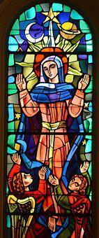 Stained Glass, Window, Color, Church, Glass, Faith