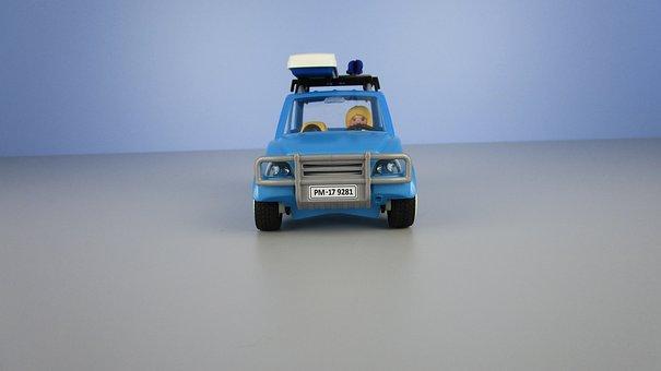 Auto, Roof Box, Miniature, Playmobil, Youtube