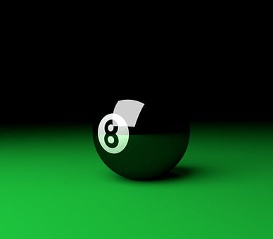 Eight, Ball, Eight Ball, Pool, Black, 8, Leisure, Play
