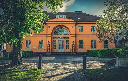 Theater, Berlin, Castle Park, Facade, Architecture