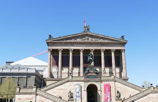 Berlin, Museum Island, Architecture, Building, Museum