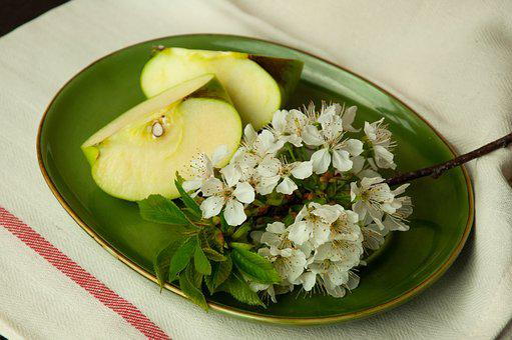 Apple, Green Apple, Fruit, Food, Apples, Fresh, Blossom