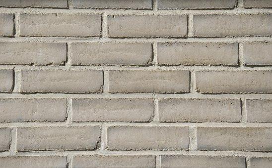 Wall, Bricks, Texture, Pattern, Masonry, Mortar, White
