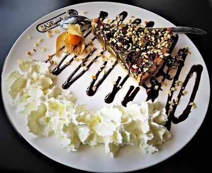Nut Cake, Danish Nut Cake, Pastries, Cake, Decorated