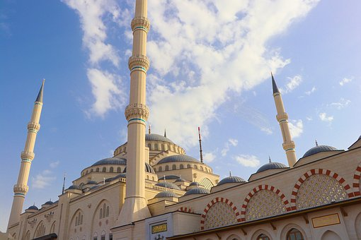 Istanbul, Cami, Camlica, Large Return, Mosque, Islam