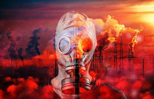 Gas, Mask, Toxic, Climate Protection, Climate Change