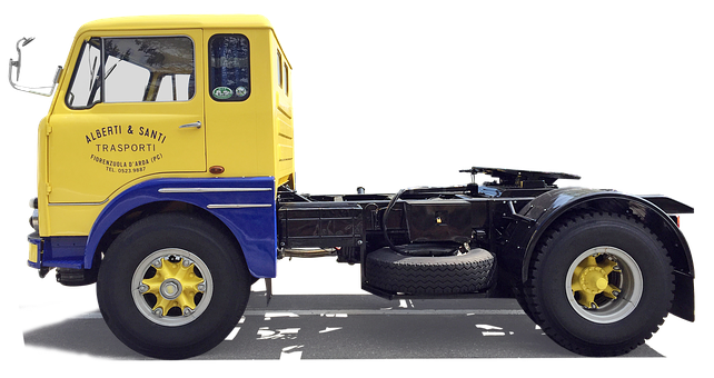 Fiat, Tractor, Truck, Isolated, Retro, Traffic, Vehicle