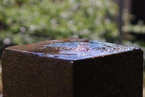 Water Feature, Fountain, Bubble, Water Fountain, Flow